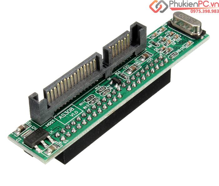 Card chuyển HDD Laptop ATA IDE 2.5 inch sang SATA chip JM20330