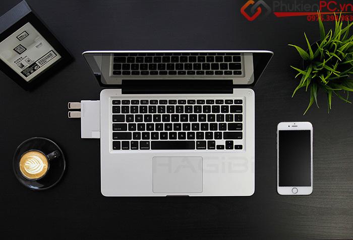 Hub chia USB 3.0-1 ra 4