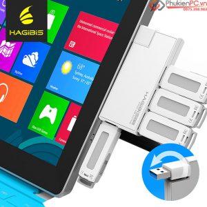 Bộ chia USB 3.0-4 cổng, nhỏ gọn, bạn nên mua cho Surface Pro