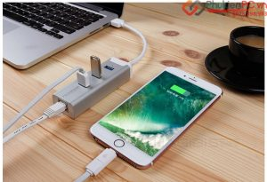 Bộ chia USB 3.0 kèm LAN 1000mb bạn nên mua cho Macbook Air, Pro Retina