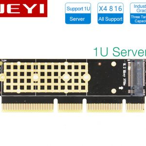 Adapter SSD M2 NVMe PCIe to PCI-E 16X-1U cho Server