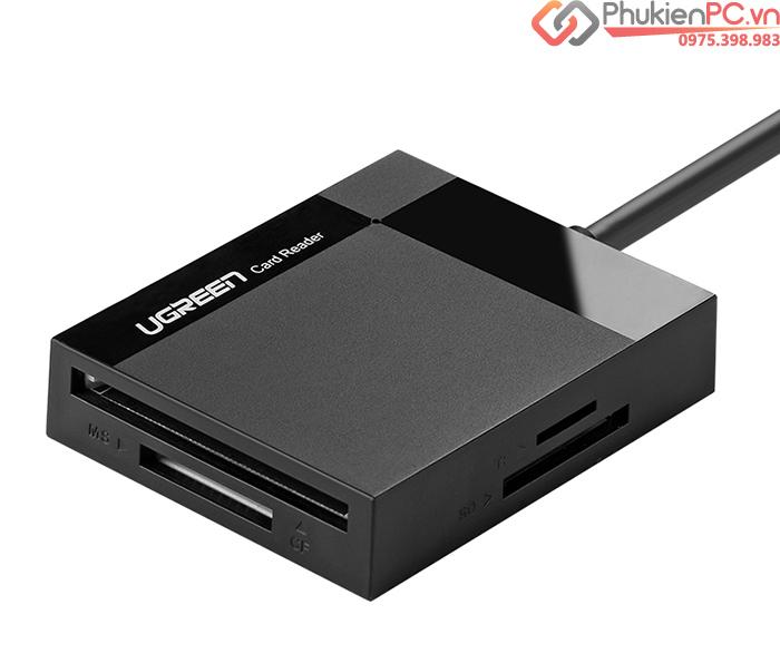 Đầu đọc thẻ nhớ USB 3.0 4 trong 1 SD, TF, CF, MS Ugreen 30229