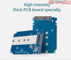 Mạch chuyển ổ cứng SSD M2 SATA 2280 ra SATA 2.5 inch