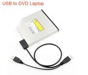 Cáp chuyển DVD Laptop ra USB (USB to SATA 7+6)