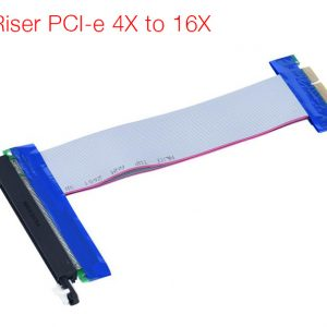 Cáp Riser PCI-E 4X to 16 X cho Server, PC