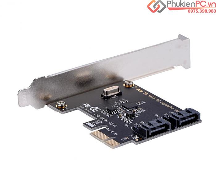 Card PCI-E to 2 SATA III chip ASM1061