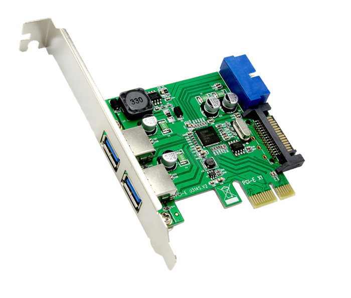 Card PCI-E to 2 USB 3.0, 20Pin chipset NEC720701