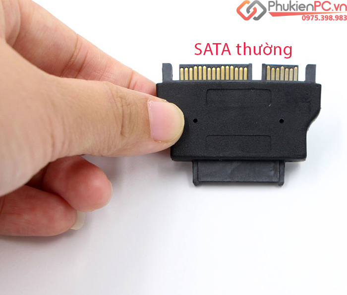 Đầu chuyển đổi SATA sang SATA 7+6 cho CD, DVD Laptop