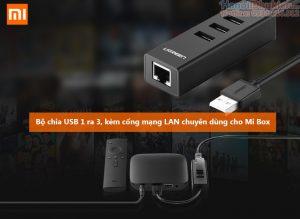Dây cáp chuyển đổi USB sang LAN cho Mi Box