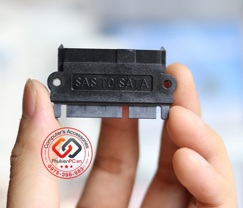 Giắc chuyển HDD SAS SFF-8484 sang SATA