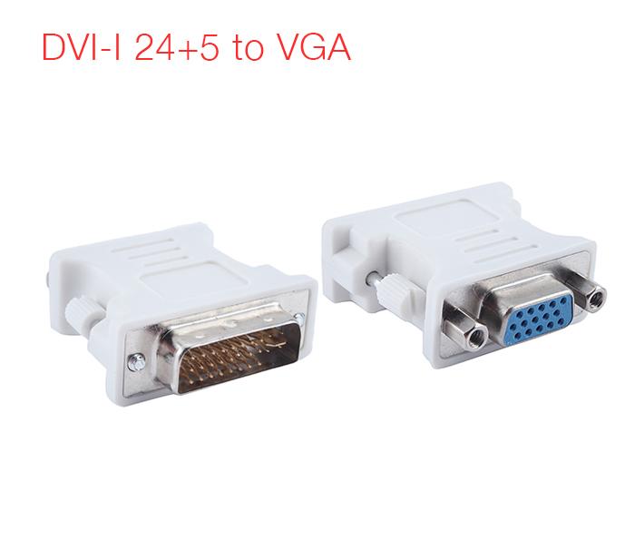 Đầu chuyển đổi DVI-I 24+5 sang VGA chân cái