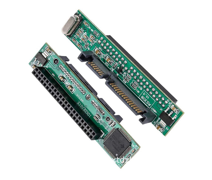 Card chuyển đổi ổ cứng HDD Laptop ATA, IDE 44 Pin sang SATA chip JM20330
