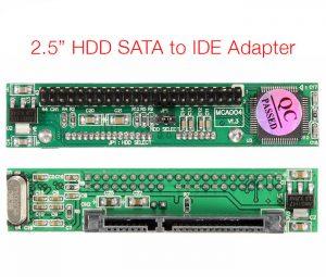 Card chuyển đổi HDD SATA 2.5 sang IDE 44Pin chip JM20330