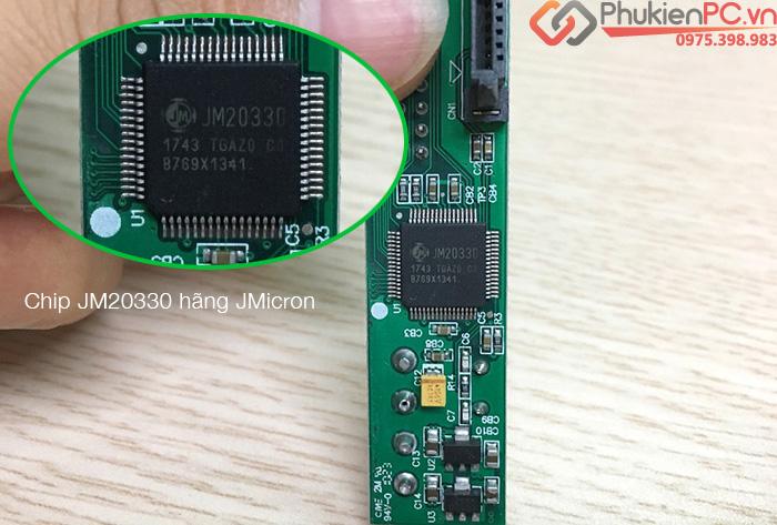 Card chuyển HDD SATA sang ATA 3.5