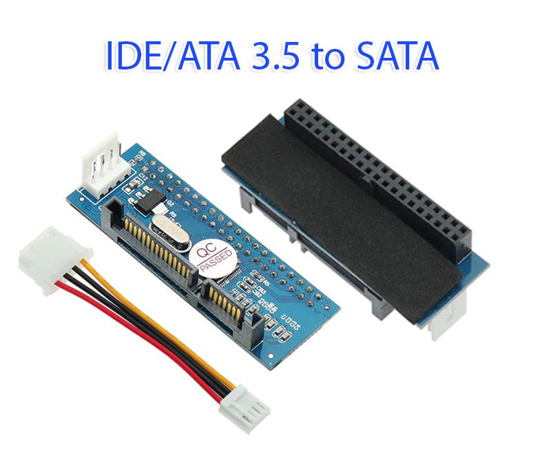 Card chuyển đổi ổ cứng HDD ATA 40Pin 3.5 inch sang SATA
