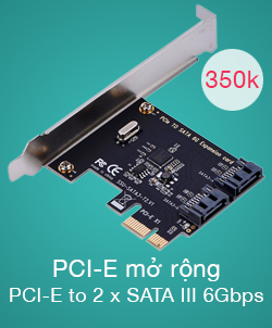 Card PCIe to SATA 3