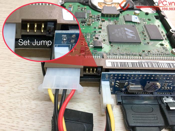 Card chuyển đổi ATA 40Pin 3.5 inch sang SATA