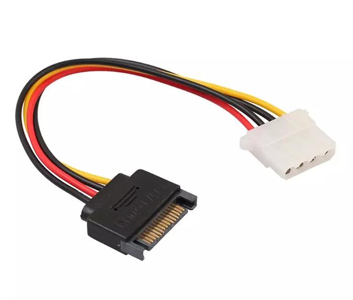 Cáp nguồn chuyển đổi SATA sang IDE 4 Pin Molex