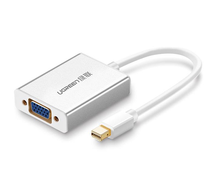 Cáp Thunderbolt sang VGA, Audio Ugreen 10437 chính hãng