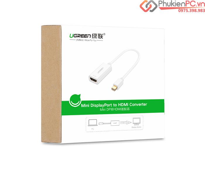 Cáp Thunderbolt sang HDMI Adapter 20cm Ugreen 10460