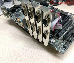 Nơi bán Card PCI to RS232, PCIe to RS232 chất lượng cao tại Hà Nội