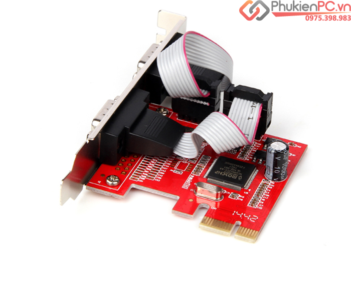 Card PCI-E to 2 RS232 Unitek Y-7504 Moschip MCS9922