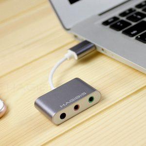 USB Sound chuyển đổi USB ra Micro, tai nghe