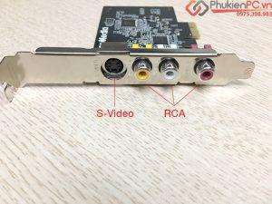 Card ghi hình AverMedia RCA, S-Video hình ảnh sắc nét Win 10, 7