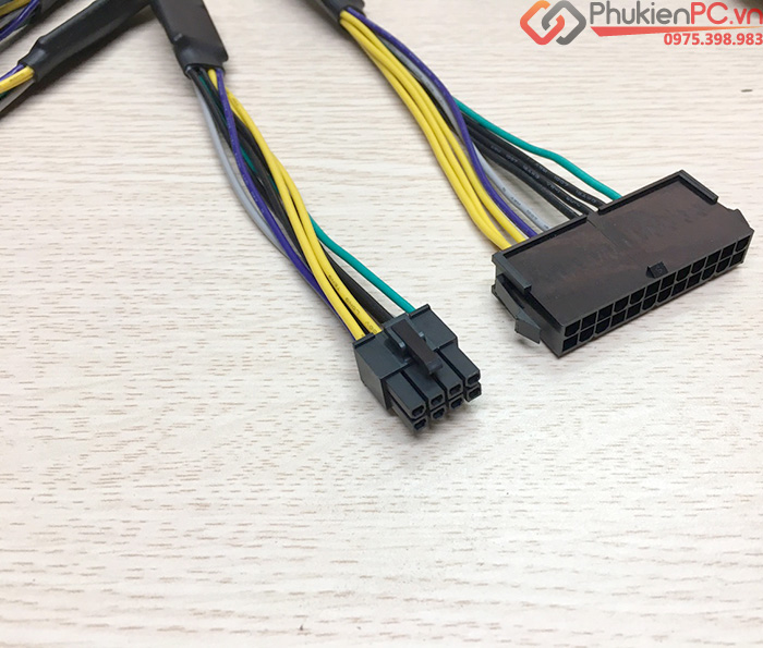 Dây nguồn 24Pin to 8Pin cho Dell 3020 7020 9020 T1700 vostro 3670