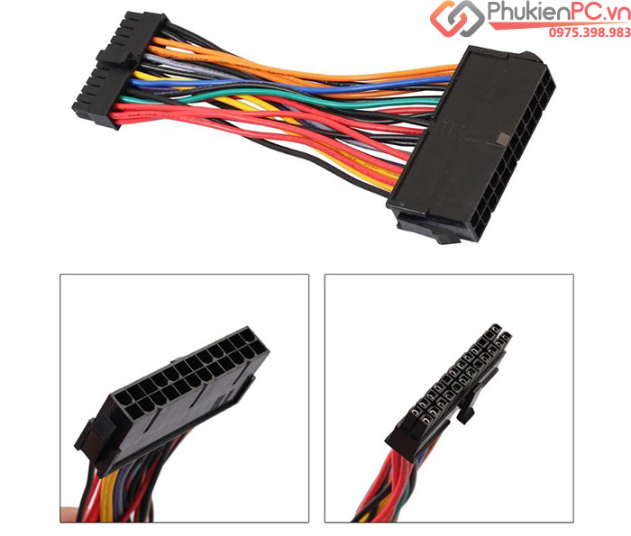 Dây nguồn 24Pin ATX to Mini 24Pin Dell Optiplex 760 780 960 980 SFF
