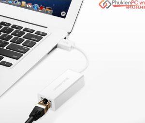 Hướng dẫn kết nối Macbook ra mạng LAN có dây, cách cài đặt driver