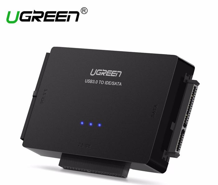 Bộ chuyển đổi USB 3.0 to HDD SATA, IDE, PATA 2.5, 3.5 Ugreen 30353