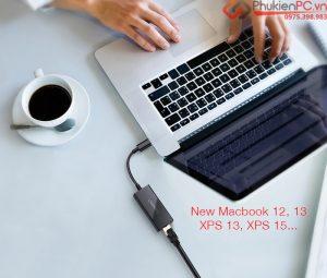Nơi bán cáp chuyển đổi new Macbook 2017 ra cổng mạng LAN