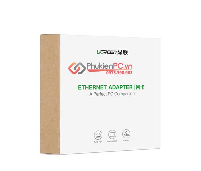 Cáp Thunderbolt 3 to LAN Gigabit 1000 Mbps Ugreen 50307