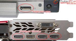 Cáp chuyển đổi Card GTX 1050, 1060, 1070, 1080 ra màn hình VGA