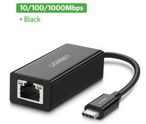 Cáp chuyển đổi Thunderbolt 3 to LAN 1000 Mbps Ugreen 50307