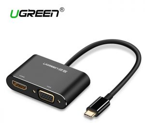 Ugreen-USB-C-HDMI-VGA-Adapter-Type-C-to-HDMI-4K-Thunderbolt-3-for-Samsung-Galaxy