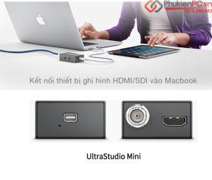 Hướng dẫn kết nối Blackmagic Mini Recorder vào Macbook