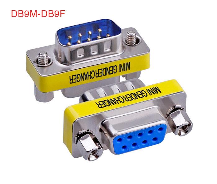 Đầu nối COM DB9 Male to Female (đực sang cái)