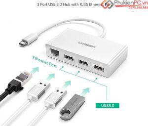 Thiết bị chuyển đổi, kết nối Macbook Pro ra mạng LAN, USB, máy in