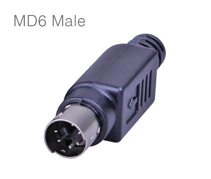 Đầu hàn MD6, PS2 Male chân đực