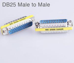 Đầu nối DB25 LPT hai đầu đực (male to male)