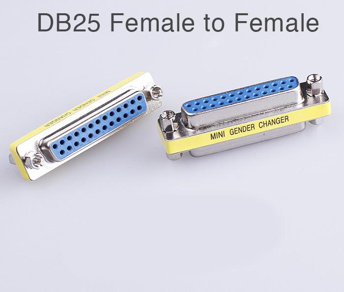 Đầu nối DB25 LPT hai đầu cái (female to female)