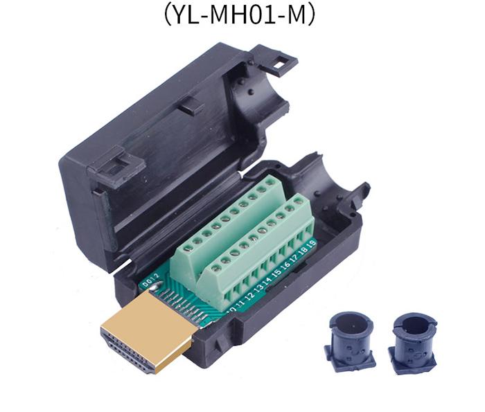 Đầu nối cáp HDMI 1.4, 2.0 bắt vít