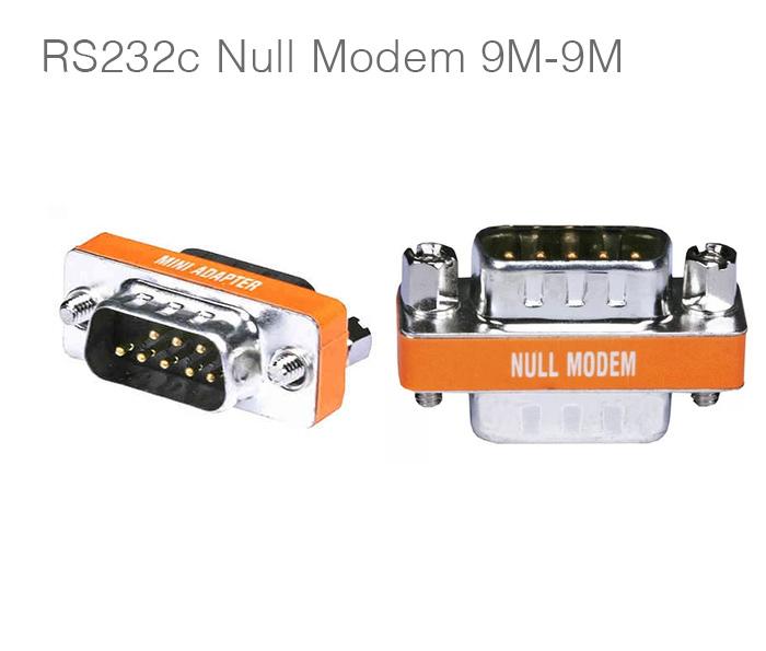 Đầu nối RS232C Null Modem Full Handshaking hai đầu đực