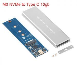 Box chuyển SSD M2 NVMe Samsung 950, 960 EVO, 970 EVO, 970 Pro ra USB