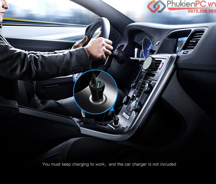 Đầu nhận Bluetooth 4.2 aptX cho loa ô tô, âm ly Ugreen 40760