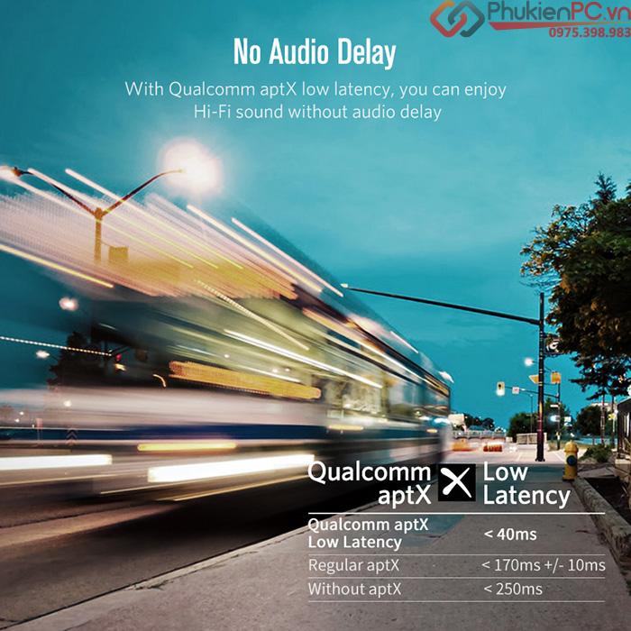 Thiết bị phát Bluetooth 4.2 hỗ trợ aptX Ugreen 40761