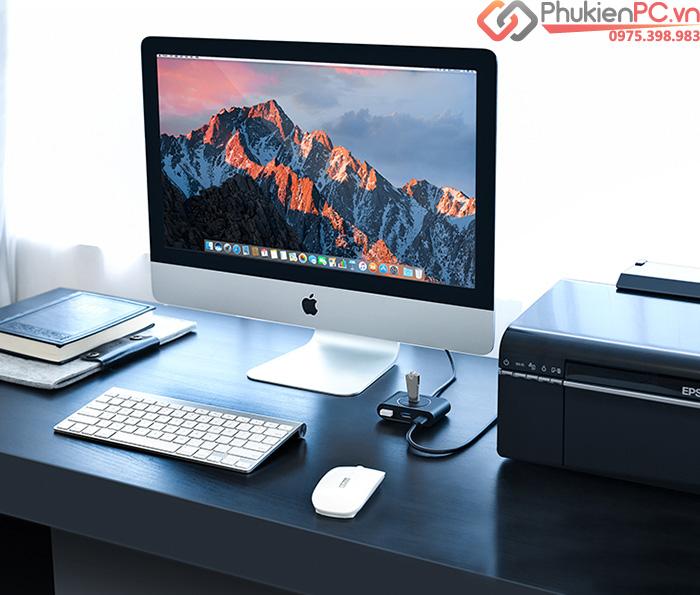 Bộ chia USB 3.0 4Port Ugreen 20290-20291 cáp dài 0.5M-1M