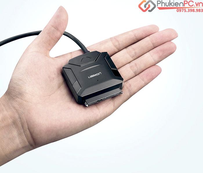 Cáp chuyển đổi ổ cứng SSD HDD SATA sang USB 3.0 Ugreen 20611